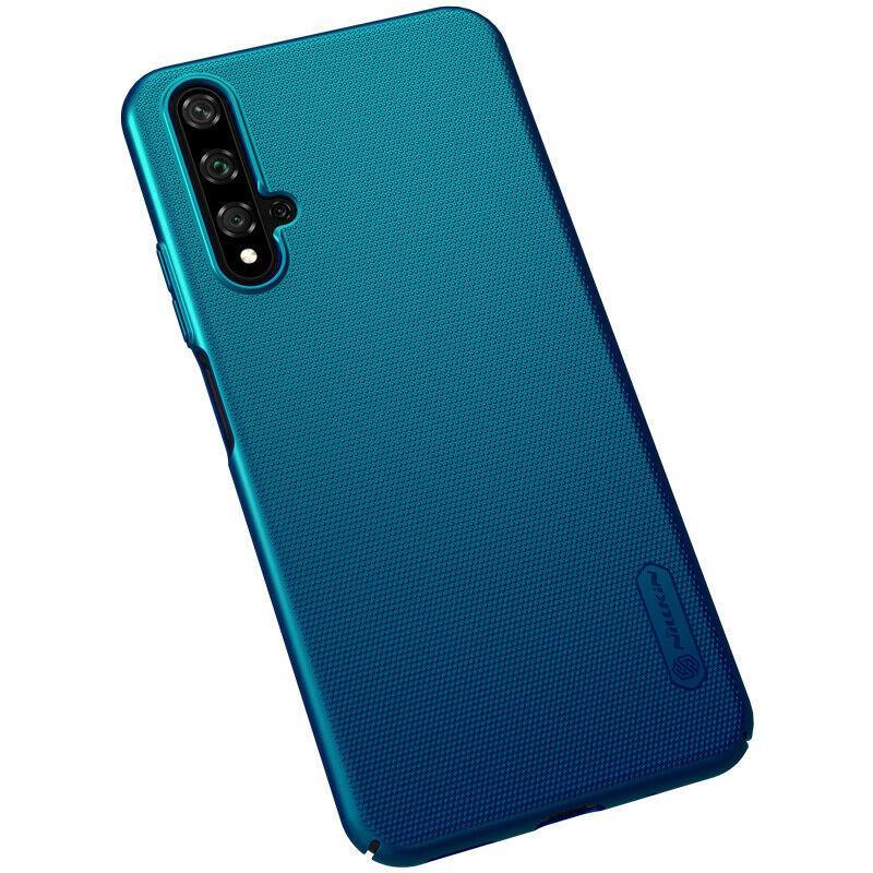 Nillkin Huawei Honor 20/ 20s / Nova 5T Super Frosted Shield Peacock Blue Чехол Накладка Бампер