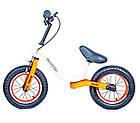 Беговел Велобег с ручным тормозом и надувными колесами Star Scale Sport, фото 5