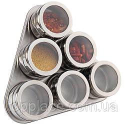 Набор для специй BN-006 на магнитной подставке 7 предметов (D1010050040)