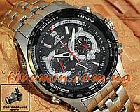 Мужские наручные часы Casio Edifice EQW-M710DB-1A1ER хронограф японское качество касио