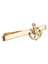 Зажим для галстука Anchor, цвет: золотой