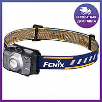 Налобный фонарь Fenix HL30GY2018 Cree XP-G3, серый цвет