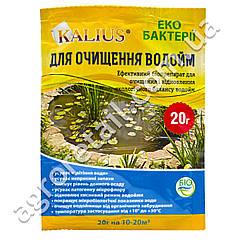 Биодеструктор Kalius для очистки водоемов 20 г