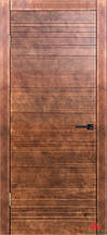Дверь межкомнатная Двери Белоруссии Модель № 3 коньяк