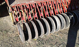 Сеялка зерновая с бункером для удобрений 2,5 м Juko б/у, фото 2