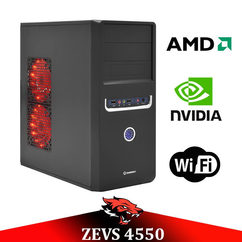 Недорогой игровой ПК ZEVS PC4550 3 Ядра + GTX 650