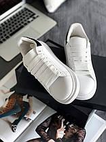 """Кроссовки Alexander McQueen """"White/Black"""", фото 2"""
