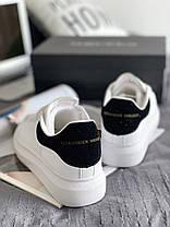 """Кроссовки Alexander McQueen """"White/Black"""", фото 3"""