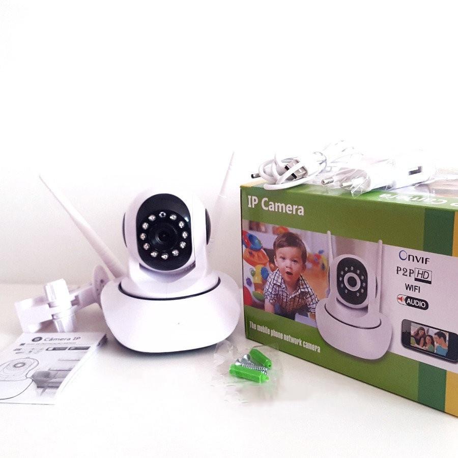 Беспроводная поворотная камера с HD качеством (Видео-няня)