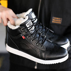 Стильные зимние мужские ботинки