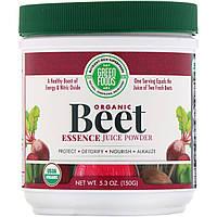 Green Foods Corporation, Organic Beet Essence, 5.3 oz (150 g)