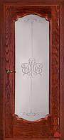 Дверь межкомнатная Двери Белоруссии Престиж вишня ПОО