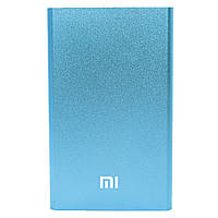 Power bank Xiaomi 10400 mAh Blue внешний аккумулятор для цифровой техники зарядки гаджетов (Реплика)