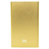 Повер банк Xiaomi 10400 mAh Gold зарядное устройство внешний аккумулятор компактный (Реплика)