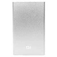 Power bank Xiaomi 10400 mAh Silver компактный ультратонкий для зарядки гаджетов (Реплика)