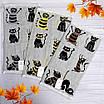 Яркие хлопковые полотенца для рук с красочным рисунком. 100% cotton, фото 3
