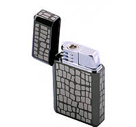 Стильный аксессуар Зажигалка 3515 BN 201 Silver на подарок Promise Подарок Захватывает взгляды Подарочная вещь