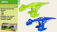 Животные батар, динозавр, звук,свет, ходит, в кор. 43*18*6 см /12/(28301)