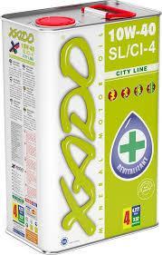 Полусинтетическое моторное масло XADO Atomic Oil City Line 10W-40 SL/CI-4 4л