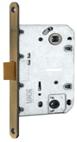 Дверной замок MVM P 2056 -AB для межкомнатных дверей , цвет -  старая бронза