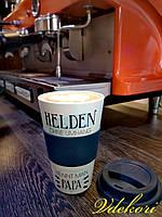 """Эко-кружка, термокружка """"Becher to go"""" для кофе и чая, из волокон бамбука. 350 мл."""
