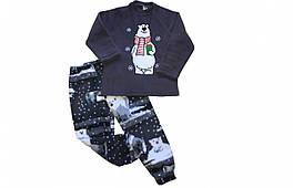 Детская пижама новогодняя Family look