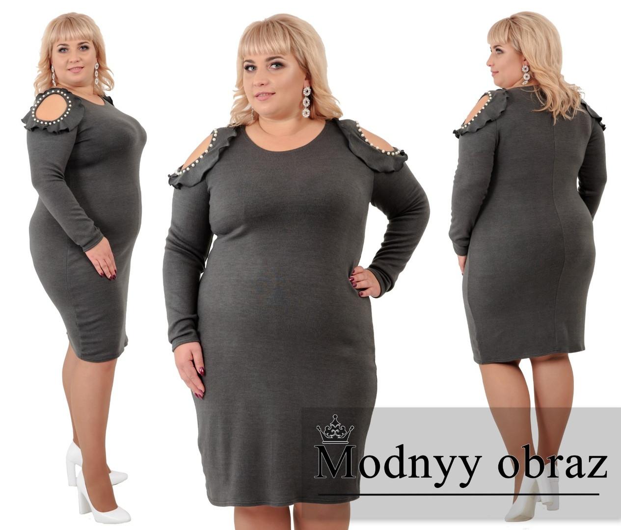 стильное платье (размеры 56-62) 0219-20