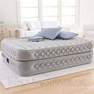 Надувная кровать Intex 64490, 152 х 203 х 51, со встроенным электрическим насосом., фото 2