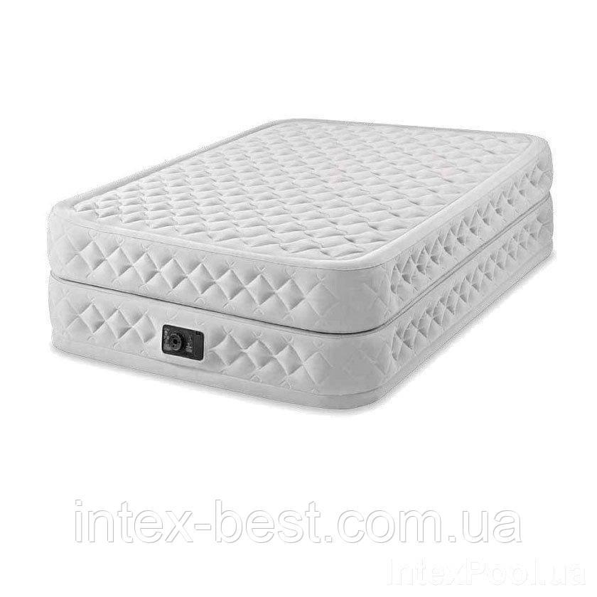 Надувная кровать Intex 64490, 152 х 203 х 51, со встроенным электрическим насосом.