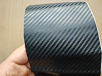 Карбоновая пленка 3D самоклейка 10х20 см для оклейки телефона авто мото вело