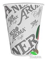 Стакан бумажный Nero Aroma 250 мл, 50 шт