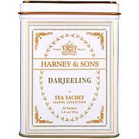 Harney & Sons, Дарджилінг, 20 чайних пакетиків, 1.4 унції (40 г)