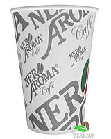 Стакан бумажный Nero Aroma 340 мл, 50 шт