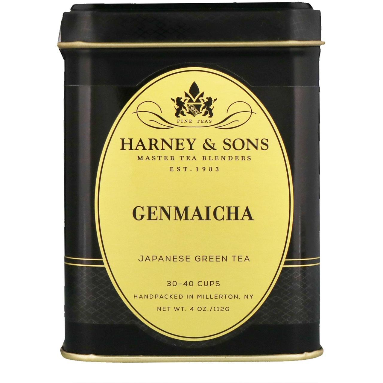 Harney & Sons, Зелений чай геммайча, 4 унції