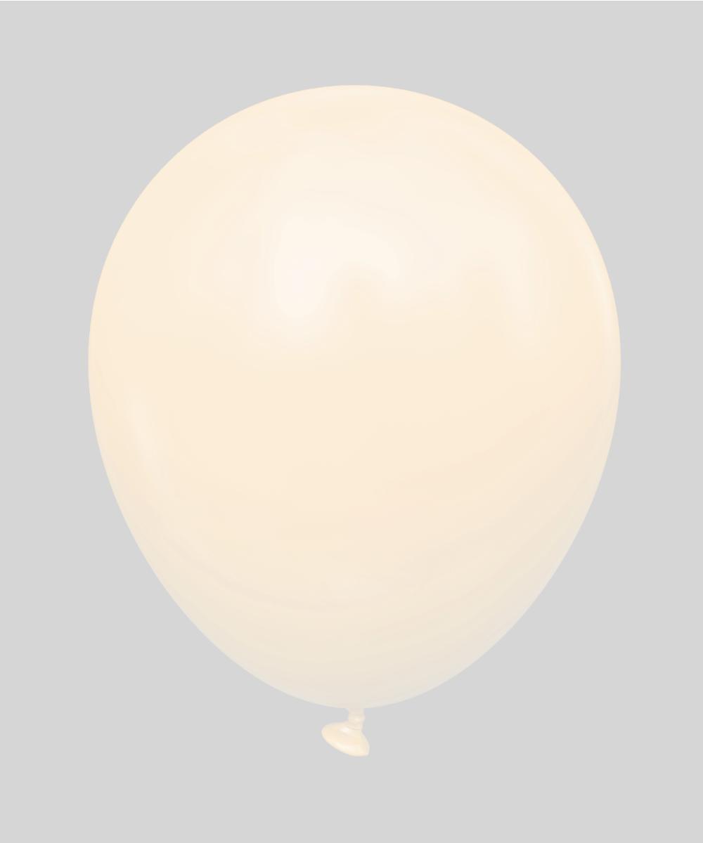 Латексные шары 12'' пастель Kalisan Турция 68 macaron лососевый, (30 см), 100 шт