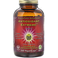 HealthForce Nutritionals, Antioxidant Extreme, версия 8, 360 веганских капсул
