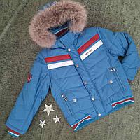 Подростковая зимняя куртка, на мальчика,Kiko р. 134-164, фото 1