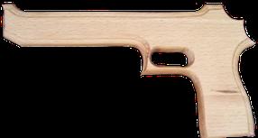 """Пістолет дерев'яний Магнум """"Голка пустелі"""", 25см, 171915у"""