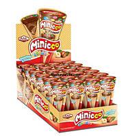 Шоколадный рожок Minicco лесной орех 15 г 24 шт (ANL)