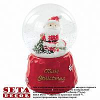 Шар новогодний музыкальный Санта