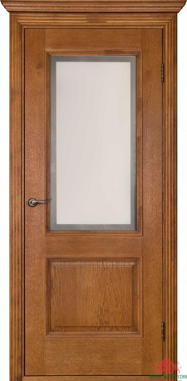 Дверь межкомнатная Двери Белоруссии Гранд орех ПО