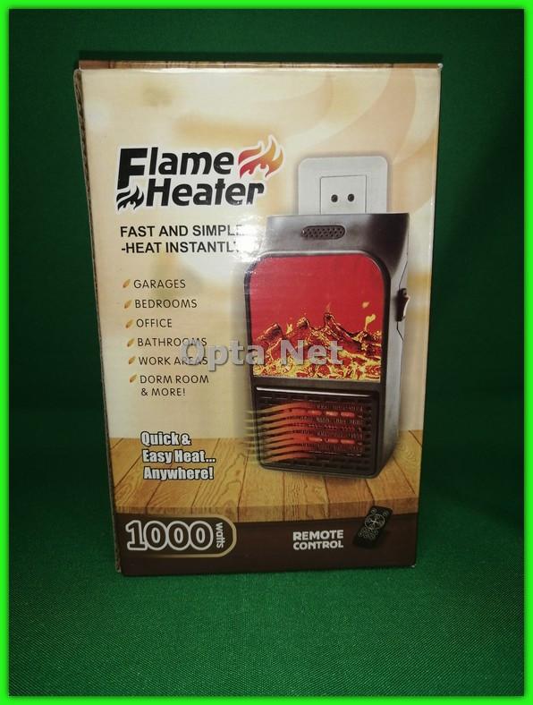 Портативный мини обогреватель Flame Heater