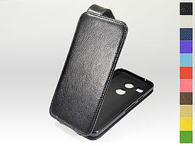 Откидной чехол из натуральной кожи для LG Nexus 5x H791