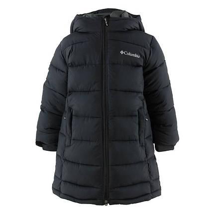 Детская (подростковая) зимняя курточка  COLUMBIA PIKE LAKE Hooded (WY0104 010), фото 2