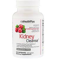 Health Plus Inc., Super Kidney Cleanse, очистка почек, система полной очистки организма, Шаг 3, 90 капсул