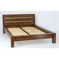 Деревянная дубовая  кровать Дрезден 1600*2000 лак