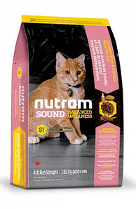 Сухой корм Nutram Sound Balanced Wellness Kitten для котят 5КГ