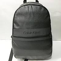 Мужской рюкзак Саlvin Кlein (Кельвин Кляйн), черный ( код: IBR110B )