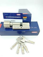Цилиндр Abus M12R 130мм (60х70T) T Ключ-вертушка 5 кл. Матовый хром