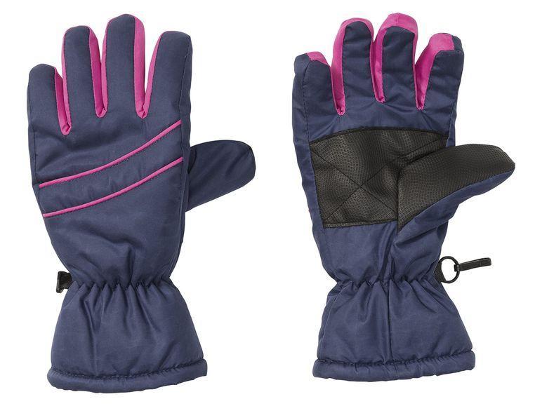 Зимние перчатки для девочки